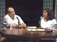 Screen capture from The Randi Lupo Show with Randi's guest Chip Ambrogio.
