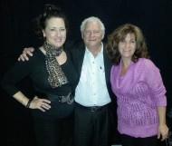 Guest Cristina Fontanelli, Host Lou Cicenia, Co-Host Lisa Dascoli
