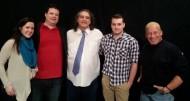 Pam DeButts, Adam Kerr, Bob Gonzo, Joshua McMinn and Jeff Norris