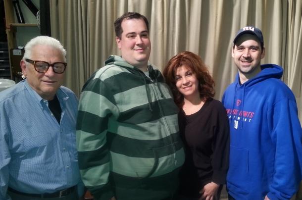 Lou Cicenia,  Joe Ferriero, Lisa Dascoli, Scott Manginelli