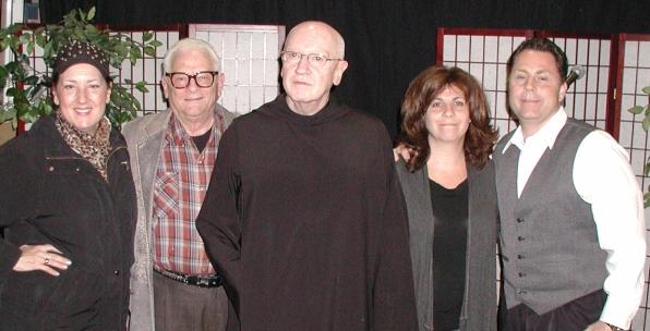 Cristina Fontanelli, Lou Cicenia, Father Bernard, Lisa Dascoli, Chris Luciani