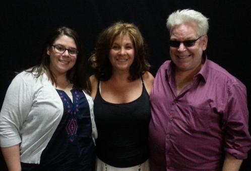 Comedian Annie Weiss, Lisa Dascoli, Ricky Ritzel